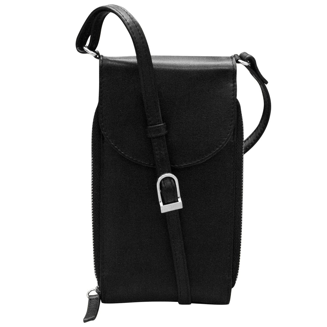 ILI New York RFID Accordion Crossbody Phone Bag