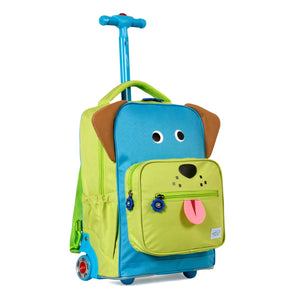 Twise NY Side Kick Collection: Rolling Backpack Puppy
