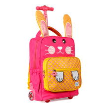 Twise NY Side Kick Collection: Rolling Backpack Rabbit