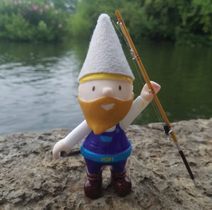 My Gnome On The Roam DIY Paintable