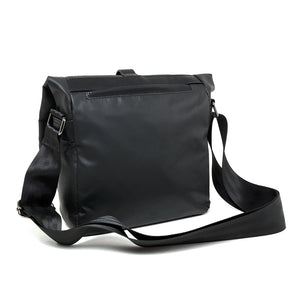 Coated Nylon Cross-Body Gadget Bag