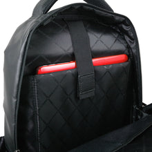 Coated Nylon Teardrop Backpack