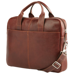 Classico Slim Zippered Briefcase