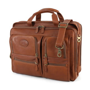 Santa Fe Deluxe Multi-Pocket Briefcase