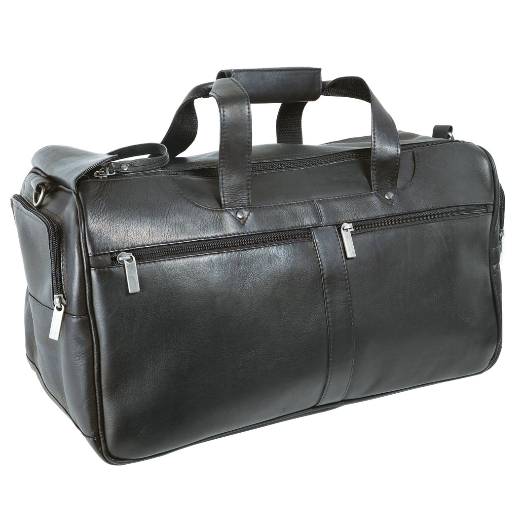 DayTrekr's Colombian Leather Speed Zip Carry-On Duffle