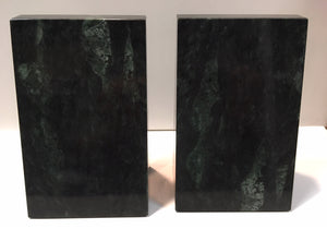 Medical Verde Marble Bookends