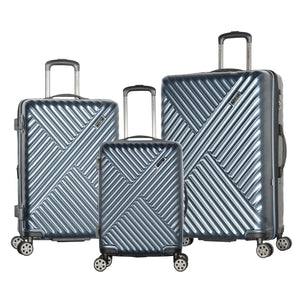 Olympia Matrix Expandable Spinner Luggage: Three Piece Set