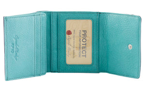 Leather Ultra Mini Wallet by Osgoode Marley