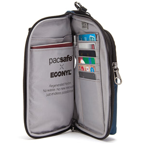 Pacsafe Econyl Collection: Daysafe Anti-Theft Tech Crossbody