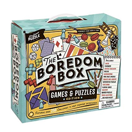 The Boredom Box by Professor Puzzle Games & Puzzles Edition