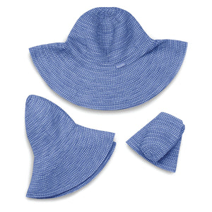 Wallaroo Scrunchie Wide Brim Hat
