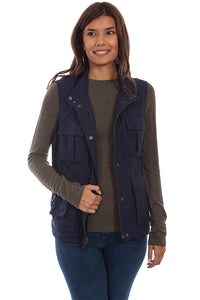 Women's Farthest North Multi Pocket Vest by Scully