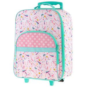 Stephen Joseph Kids All Over Print Rolling Carry-on Luggage