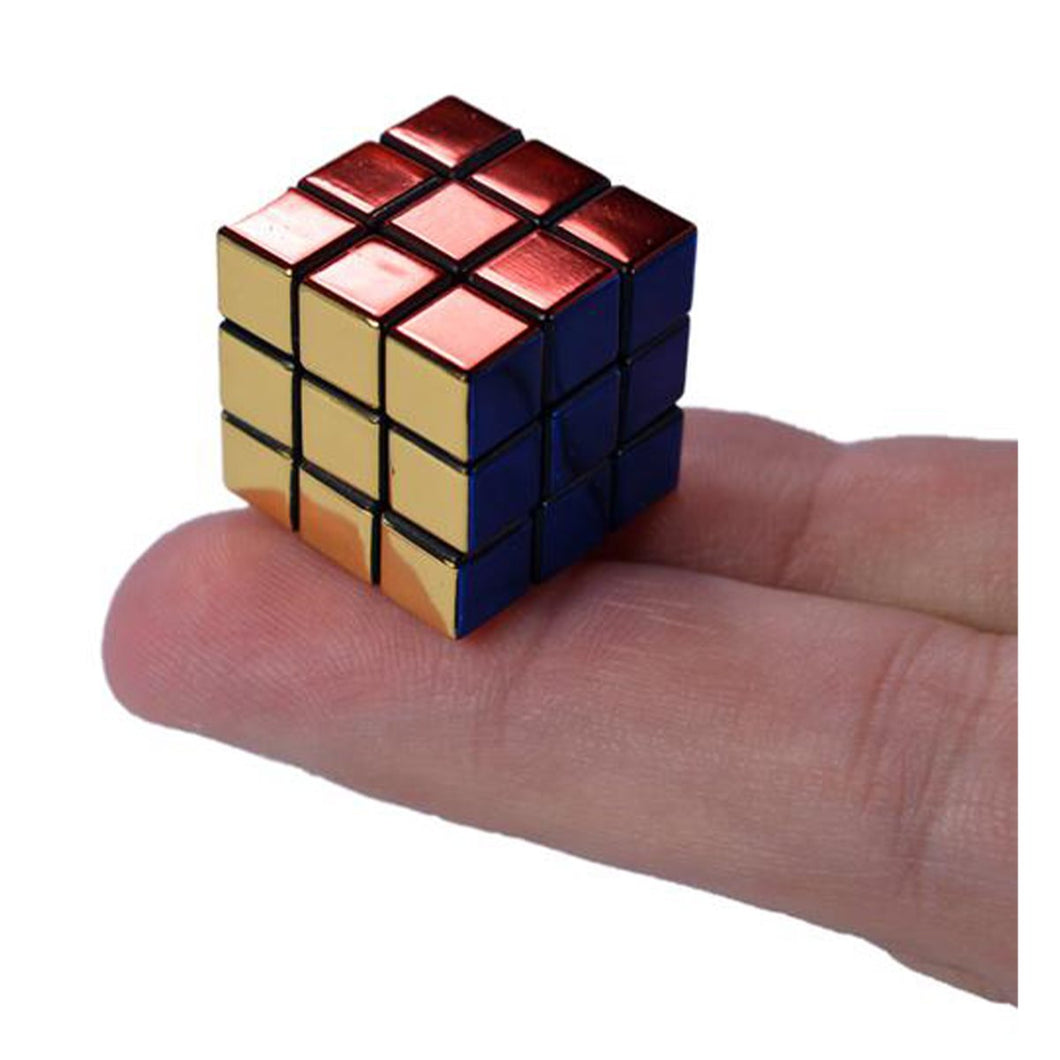 World's Smallest 40th Anniversary Rubik's Cube