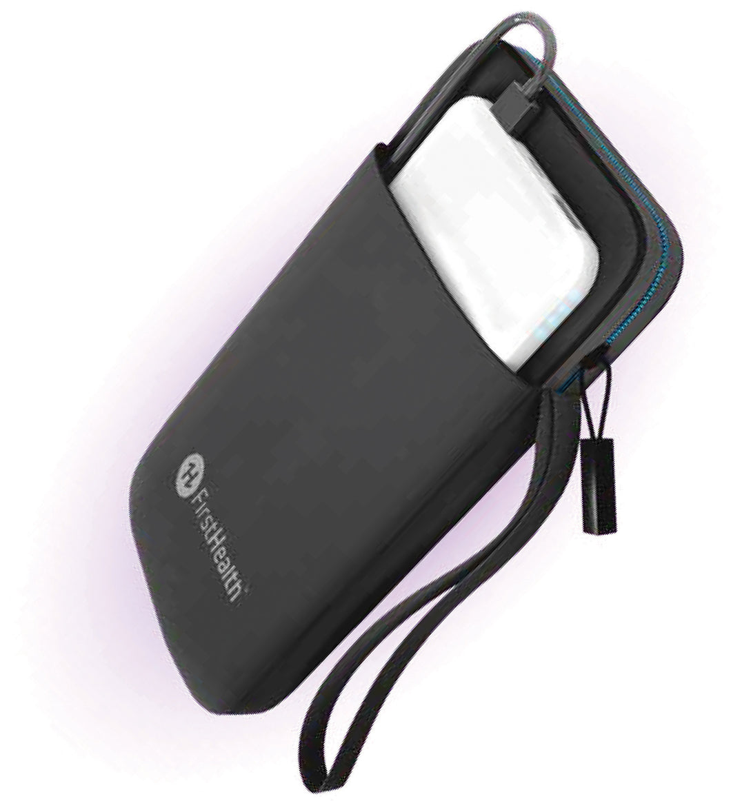 First Health UV-C Sanitizing Smart Phone Pouch Wristlet