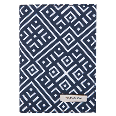 Travelon BOHO Anti-Theft Collection: Bifold Passport Holder