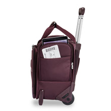 Briggs & Riley Limited Edition Plum Rolling Cabin Bag (Two-Wheel)