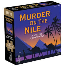 Classic Mystery Jigsaw Puzzle- Murder on the Nile