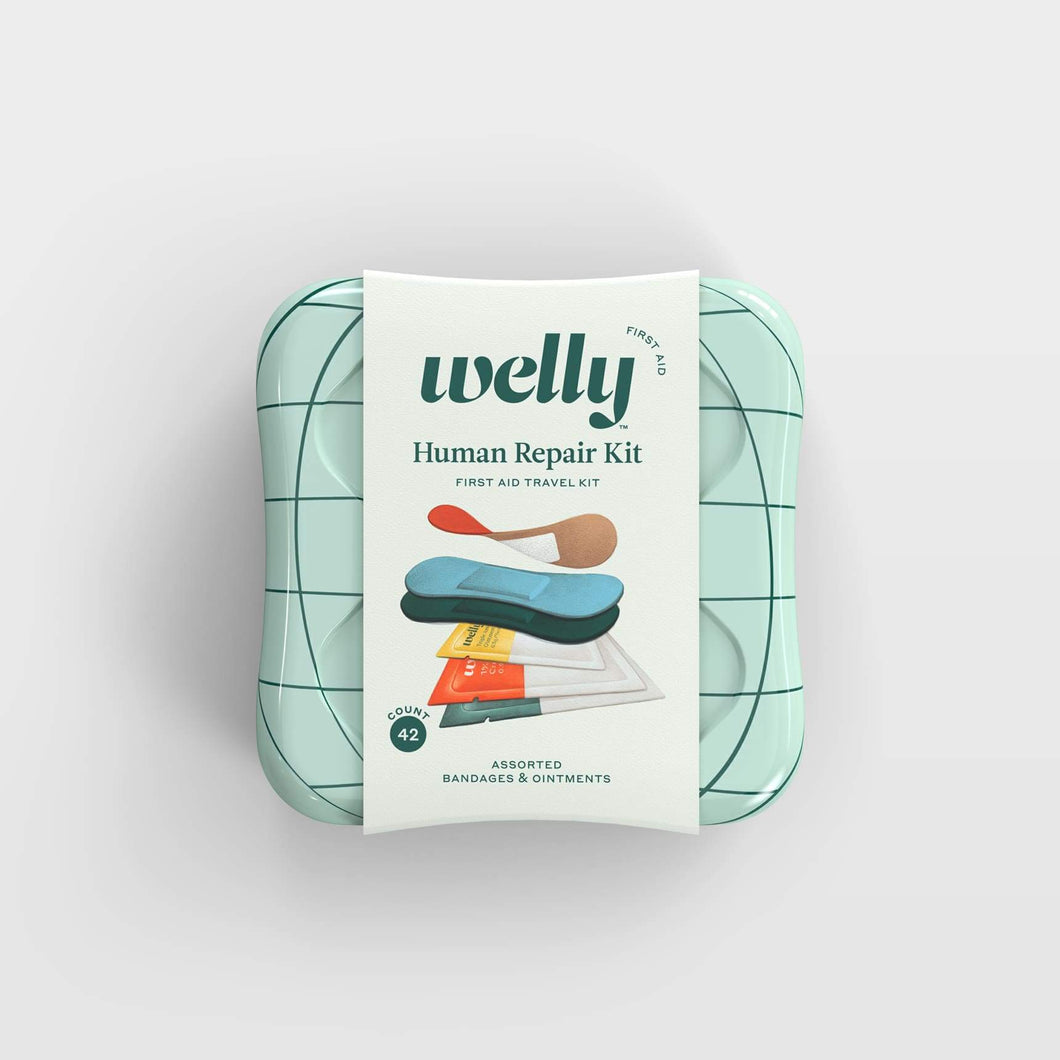 Welly Human Repair First Aid Travel Kit
