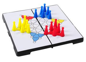 Travel Magnetic Chinese Checkers by Outside Inside Gifts