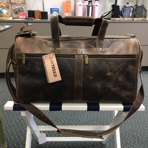 DayTrekr Distressed Leather Speed Through Duffle
