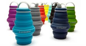 Collapsible Travel Water Bottle by HYDAWAY