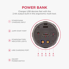 JumpSmart Jump Starter Flashlight Power Bank