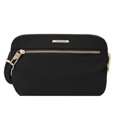 Anti-Theft Convertible Crossbody Clutch