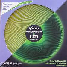 Waboba Wingman UFO: Light Up Silicone Flying Disc
