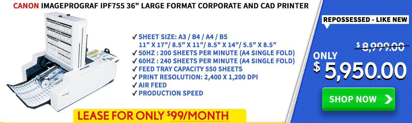 canada s lowest priced production printers new used refurbished