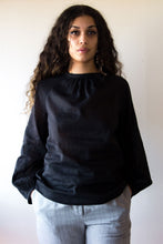 Load image into Gallery viewer, FLORENCE BLOUSE BLACK