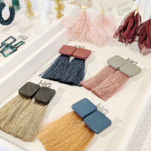 Dandy Fringe Earrings (Multiple Colors)