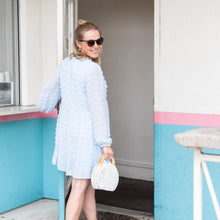 Baby Blue Pom Dress