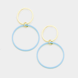 Nicola Hoop Earrings