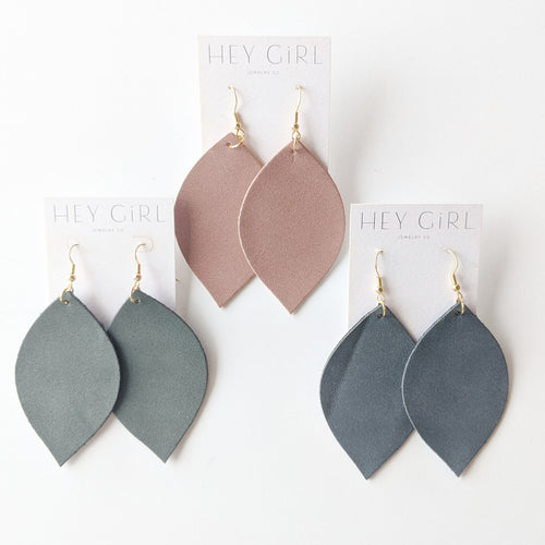 Lovely Leaf Earrings