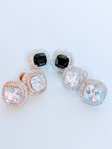 Camille Museum Stud Earrings