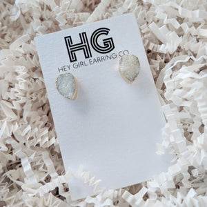 Daria Druzy Stud Earrings