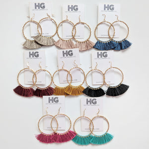 Laura Fringe Earrings