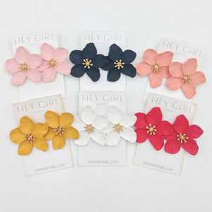 Cate Floral Stud Earrings