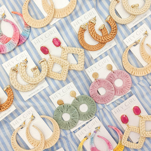 Play Date Woven Earrings