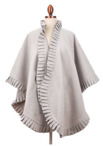 Camel, Black, and Grey Ruana Wraps