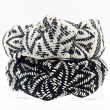 Tribal Pattern Knotted Headband