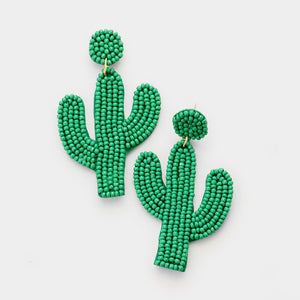 Cactus Statement Earrings