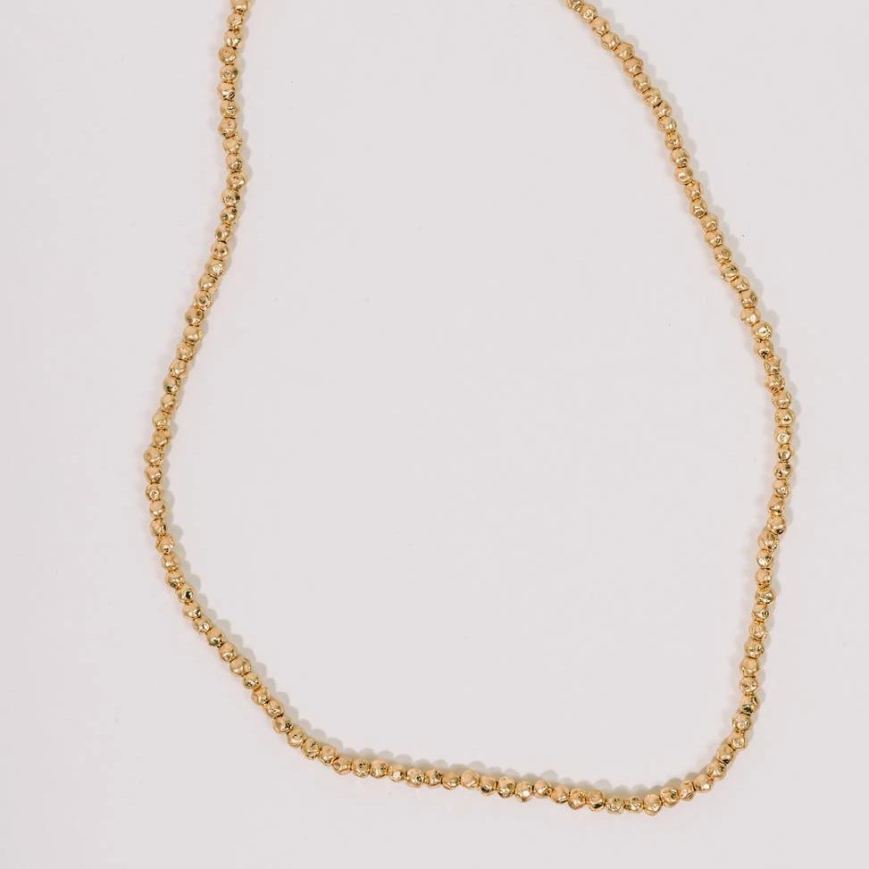 The Golden Nectar Necklace