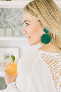 Delaney Disc Earrings