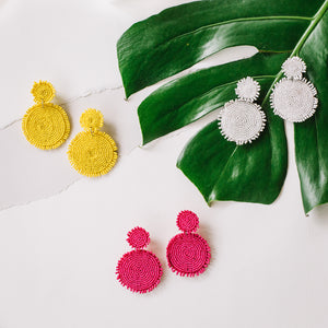 Talita Beaded Statement Earrings