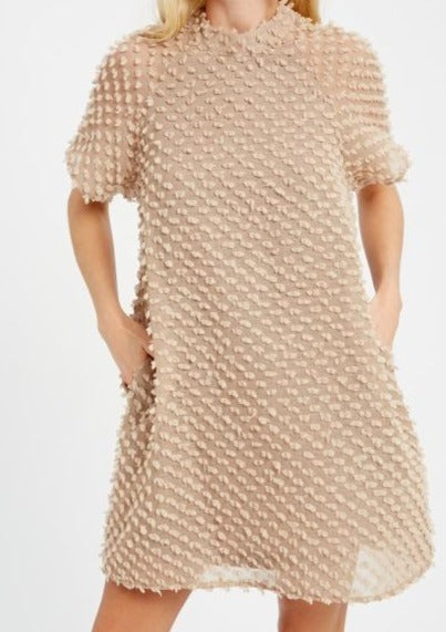 Celina Textured Dress