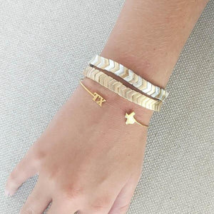 Texas Gold Bangle