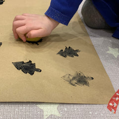 Messy arts crafts wipedown playmat