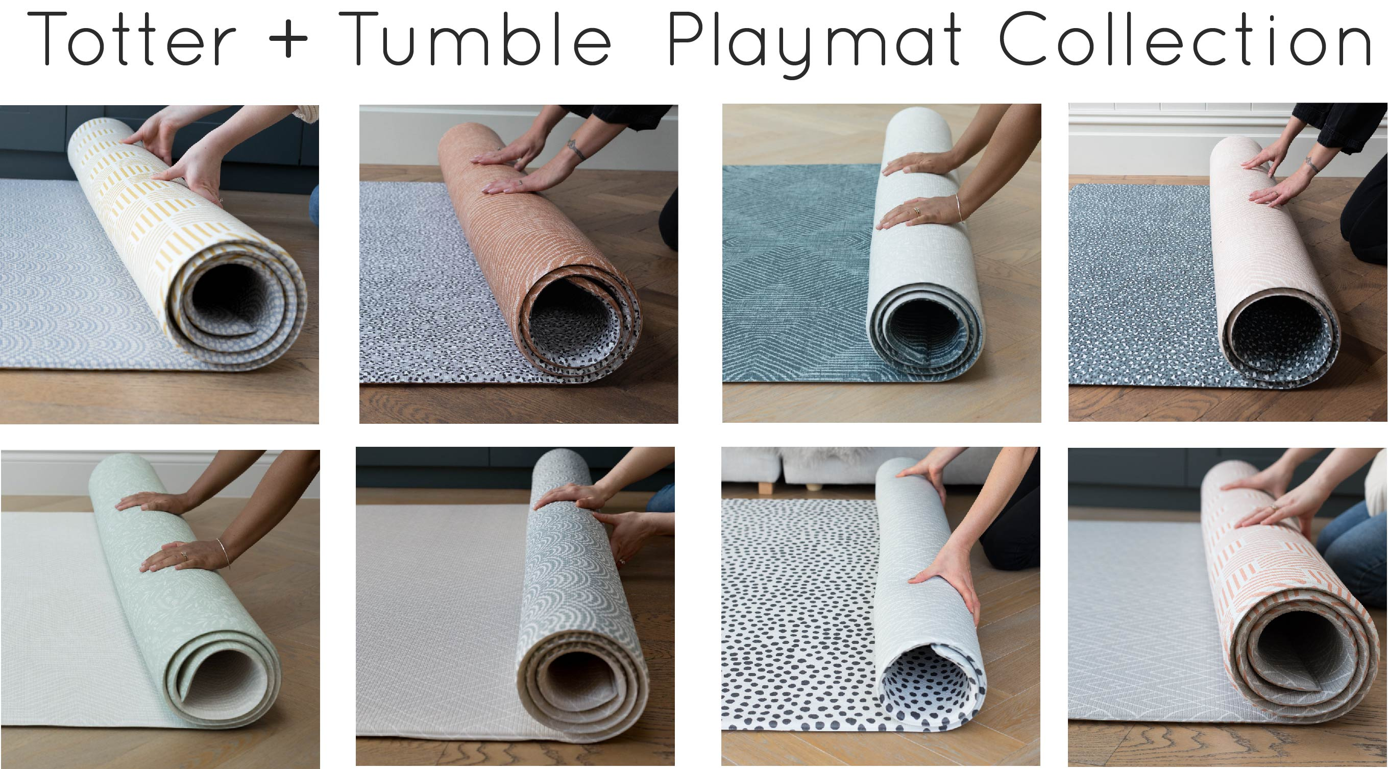 The complete 2020 luxury Playmat collection by Totter + Tumble